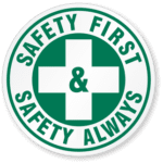 safety first logo at pacific steel and recycling