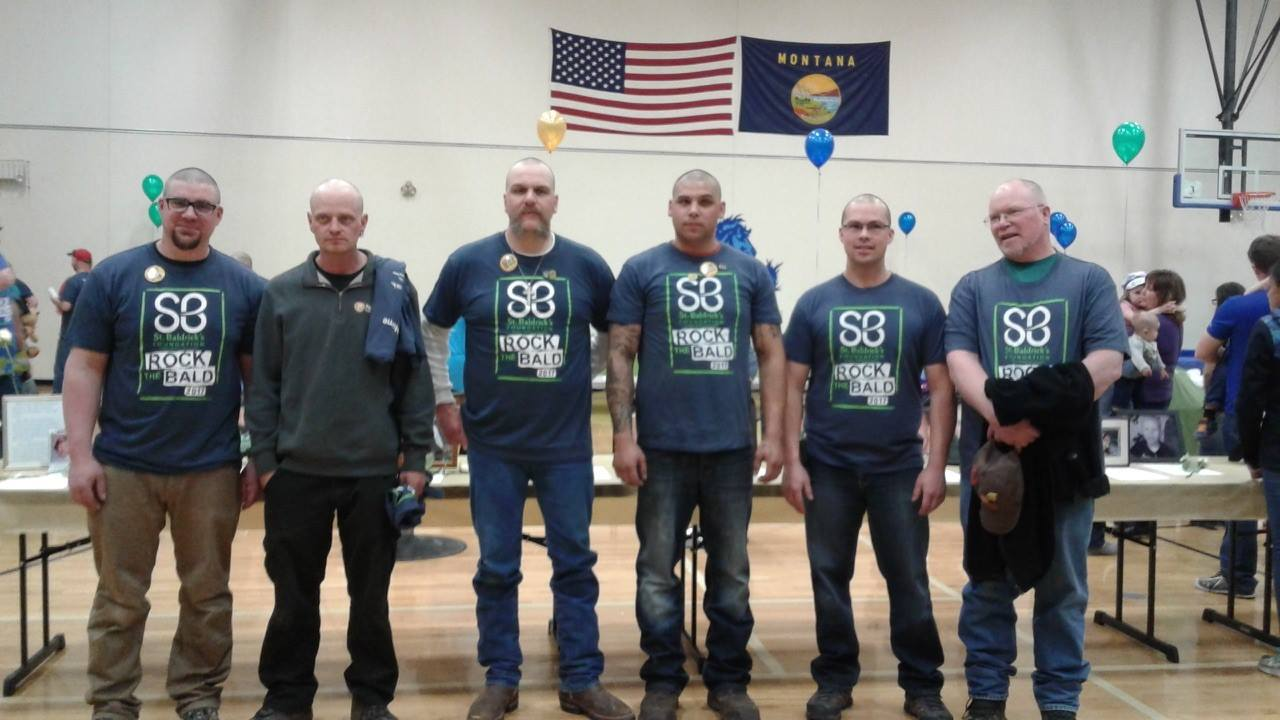 PSR, local firefighters & St. Baldricks fund for cancer research