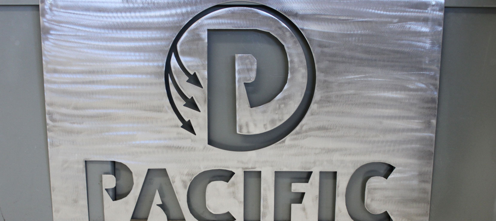 logo of metal pacific steel and recycling center