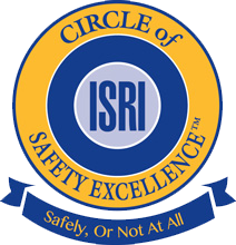 isri safety excellence logo for steel shop