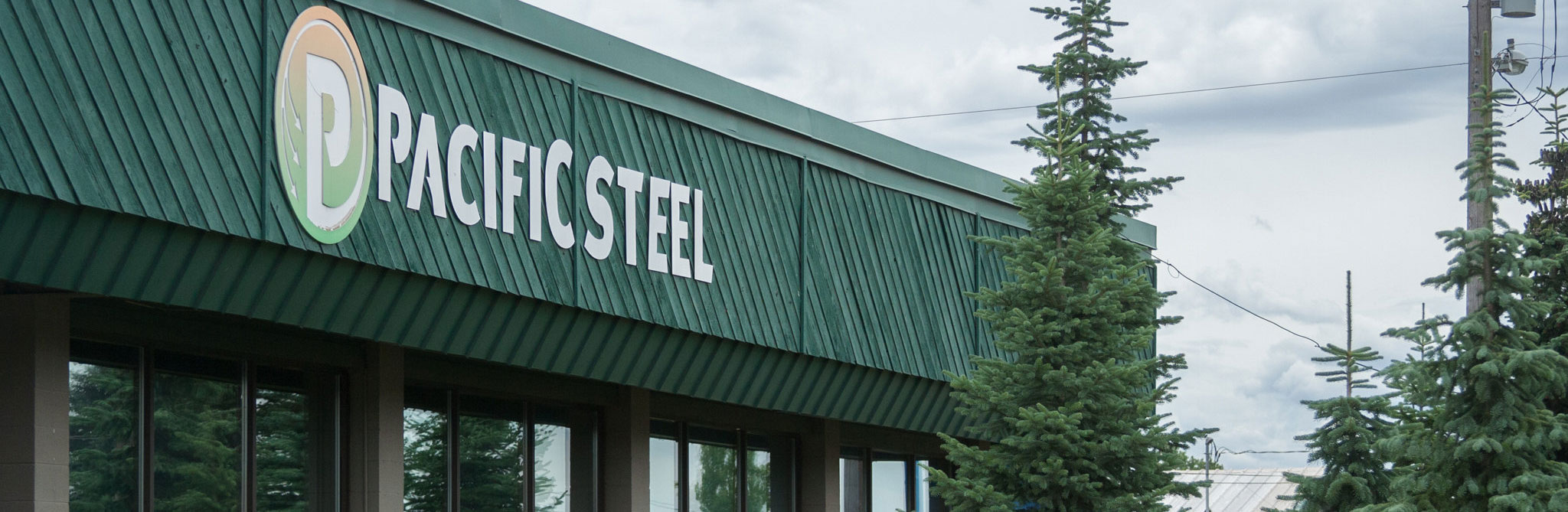 outside of pacific steel and recycling center