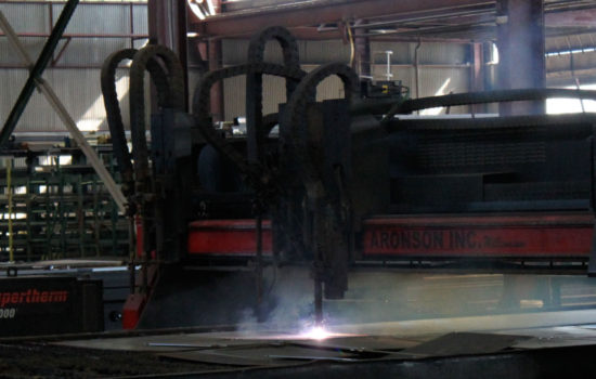 plasma cutter at pacific steel and recycling