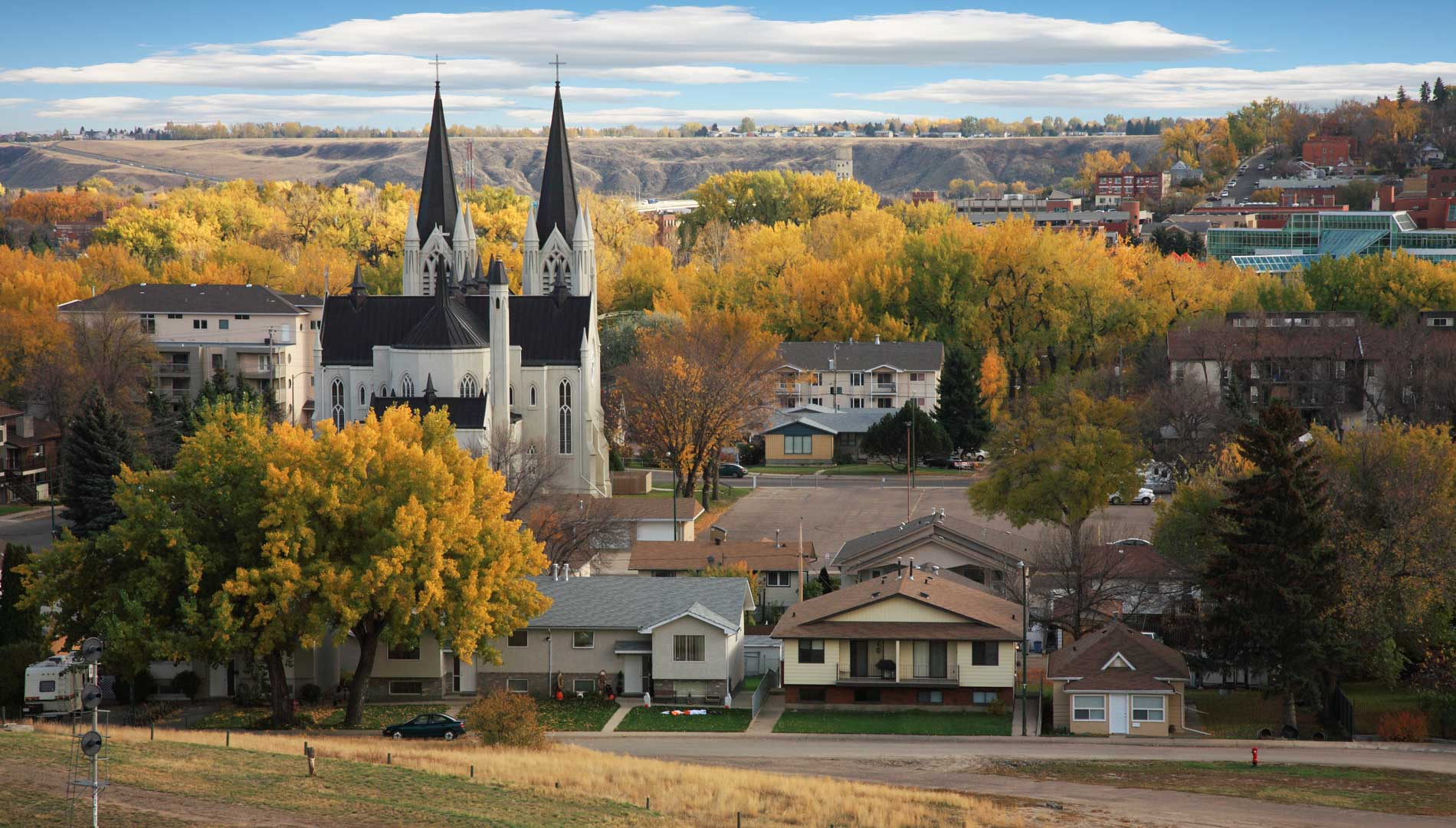 town photo of Medicine Hat in Alberta