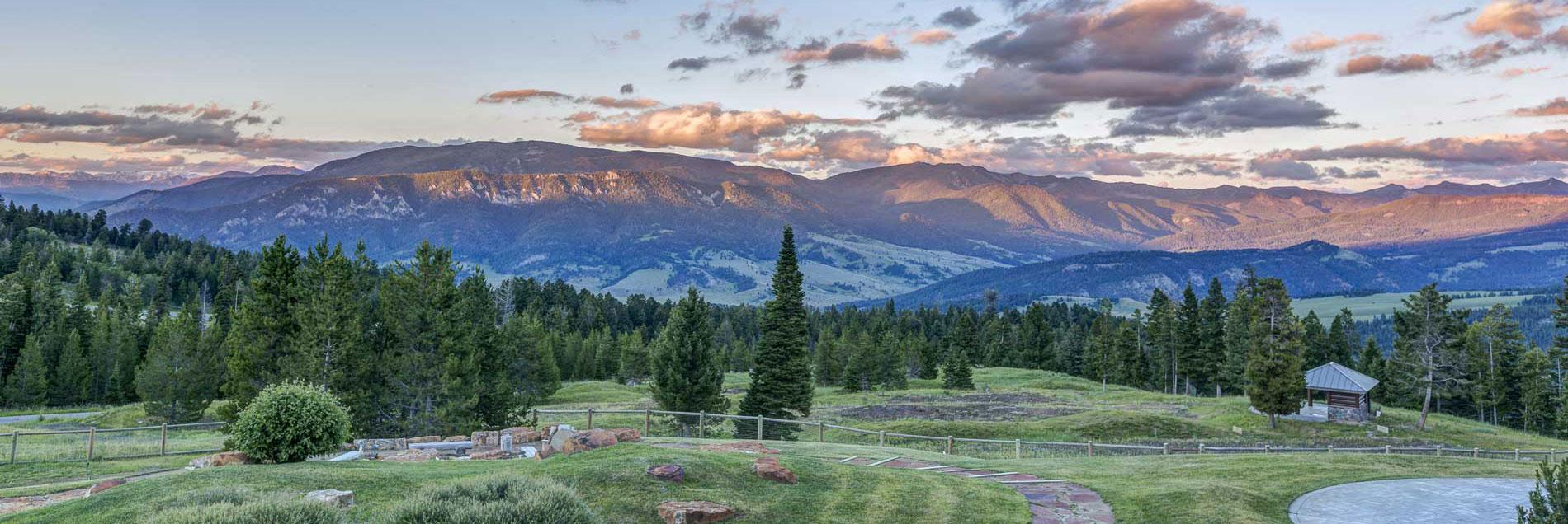 field outside of Helena, Montana
