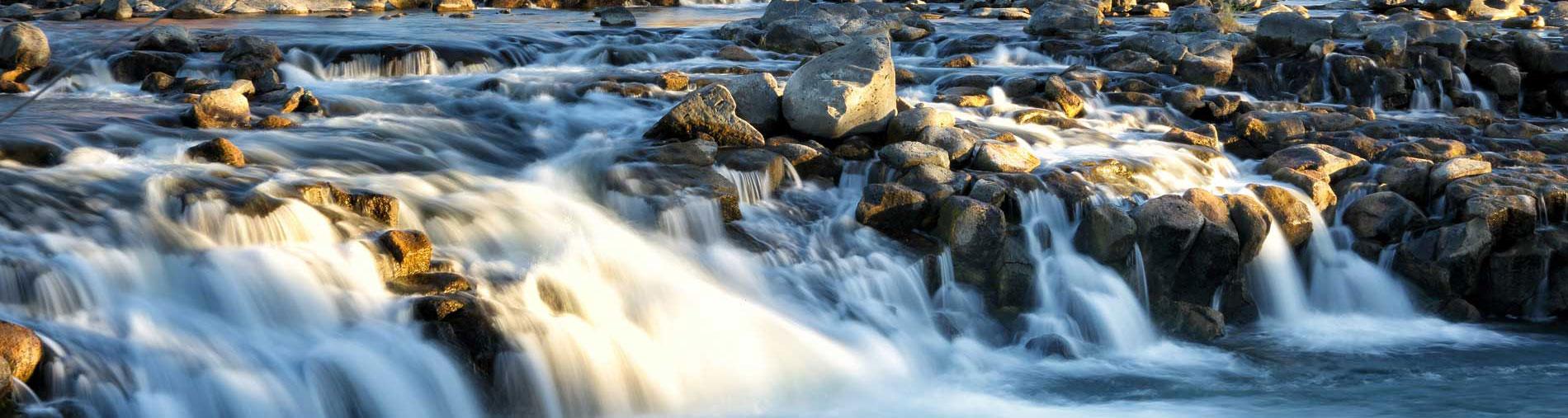 waterfall near idaho falls