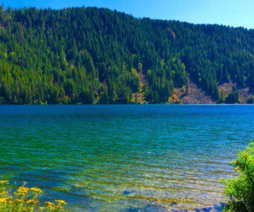 lake pend orielle near sandpoint idaho