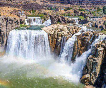three waterfalls from twin falls idaho