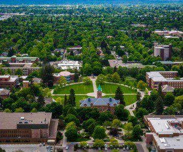 University of Montana in Missoula, Montana
