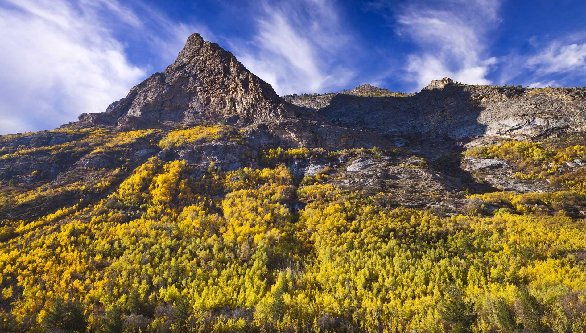 Mountain range in Elko, Nevada