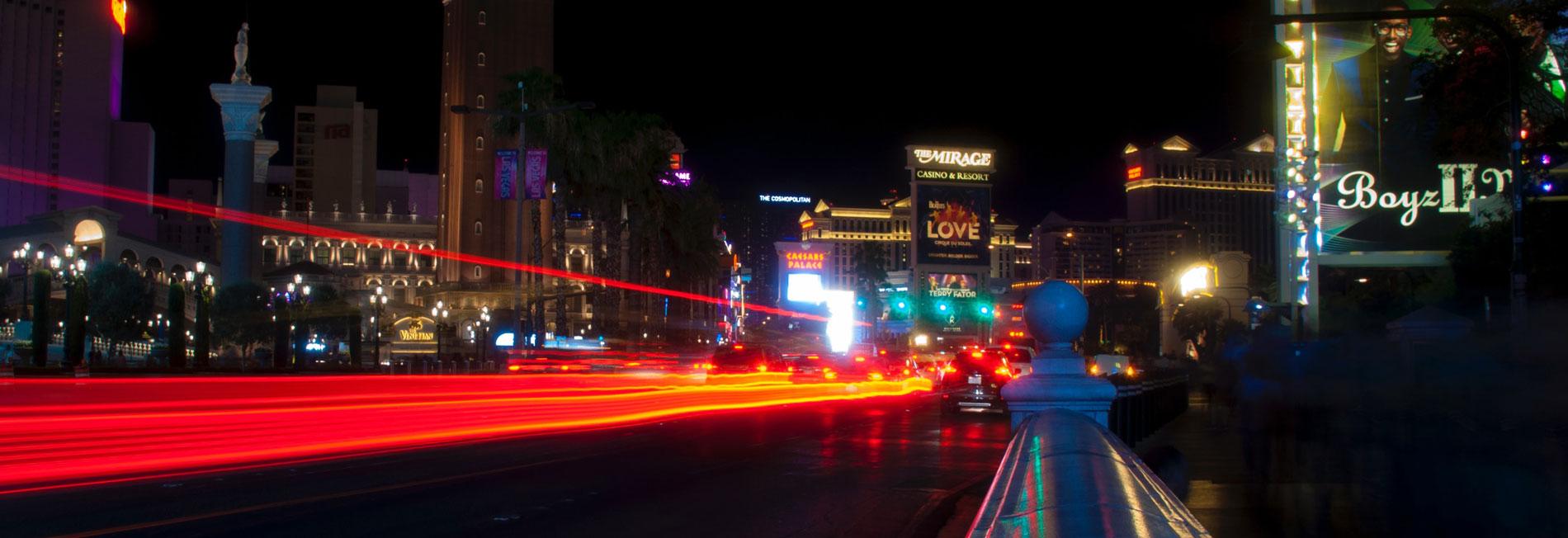 time elapse in Las Vegas, Nevada