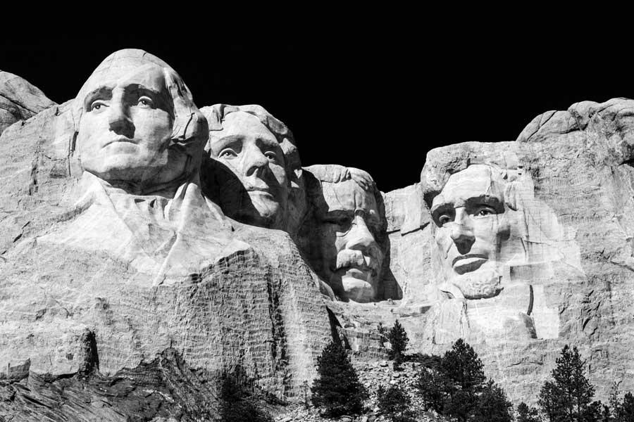 Mount Rushmore National Park in South Dakota