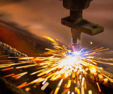 steel being welded in Medicine Hat