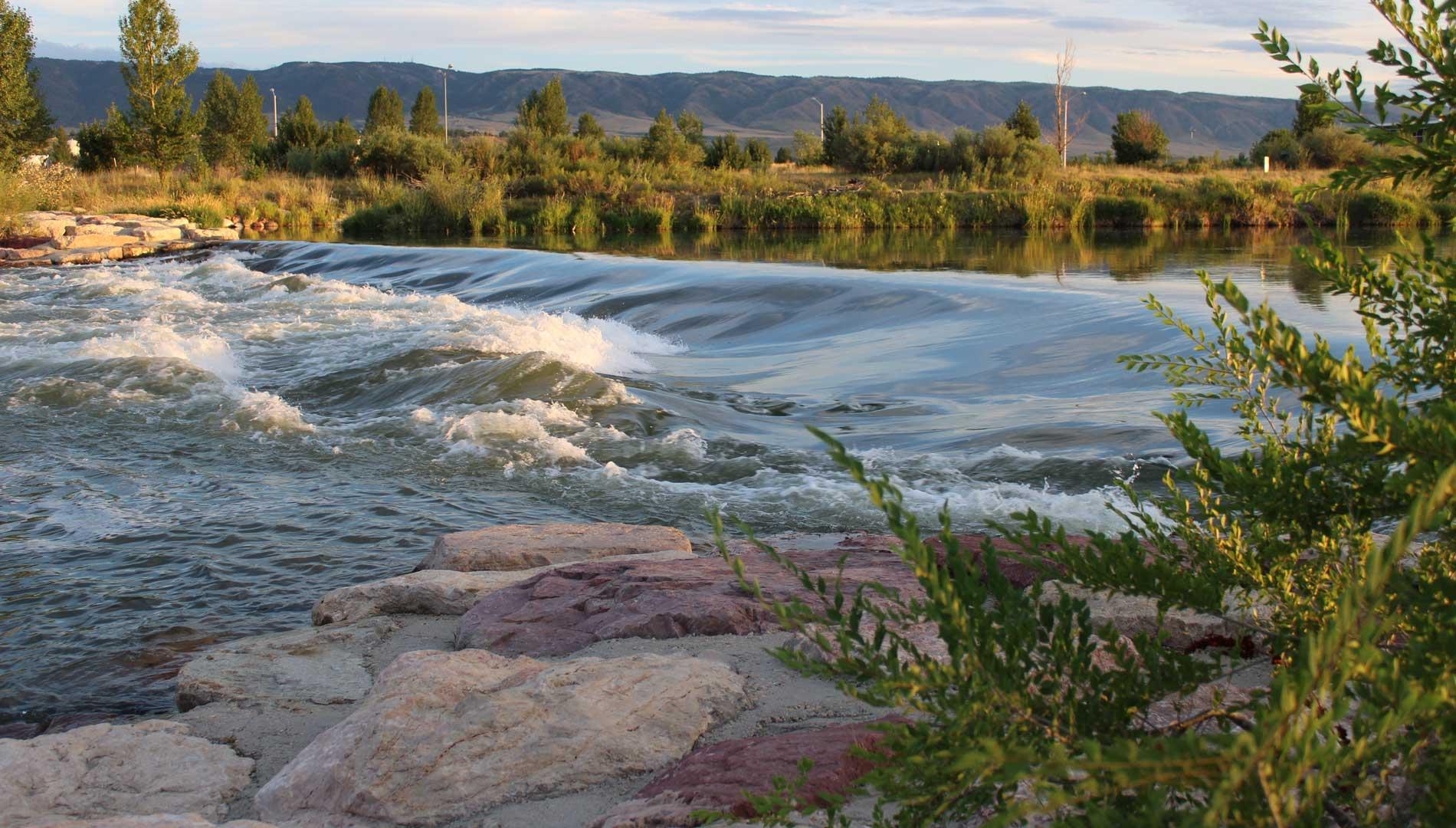 river in casper wyoming