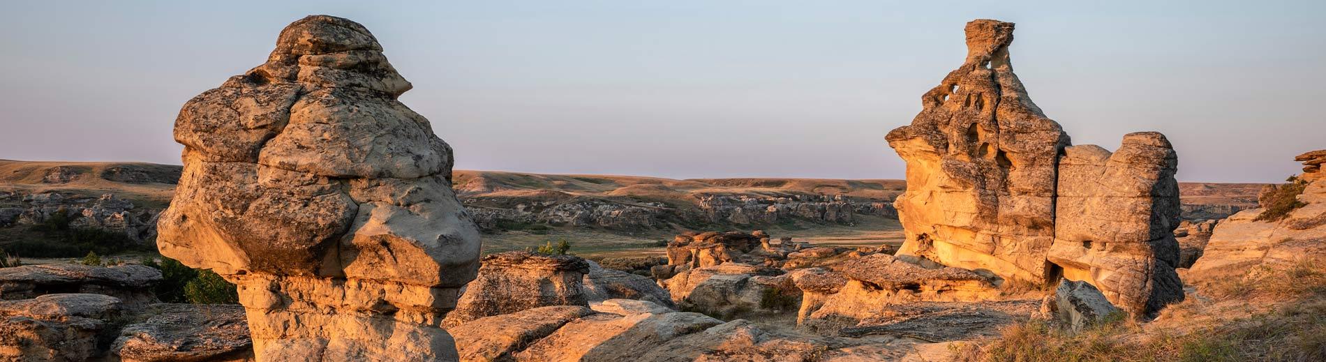 writing on stone provincial park Alberta Canada